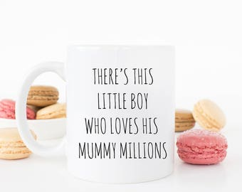 Personalised There's this little boy Mug