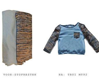 True blue sweater size 92