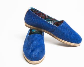 Jutes Iconicos Jute Blue lining sheets Blue Turquoise