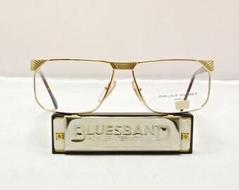 Vintage 1990s Eyeglasses JEAN LOUIS SCHERRER / Nos / Model# Ibiza / Deadstock