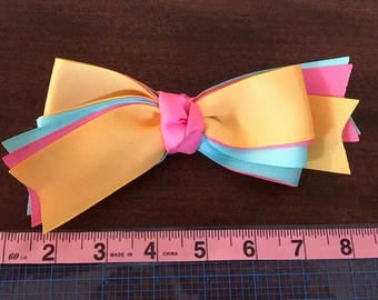 Colorful Hair Bow