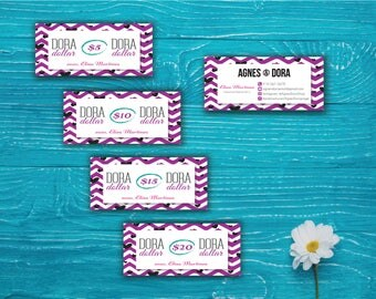 Agnes and Dora Dollar - Agnes and Dora Cash Card, Agnes Dora Dollar Discount, Agnes Dora Marketing Printable Card