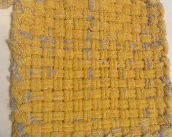 Rustic Yellow Potholder/Trivet