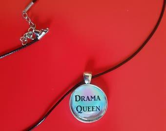 drama queen necklace