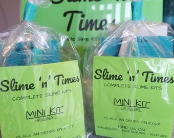 Slime Party Pack- Mini Kit (must order at least 10. BULK BUYERS ONLY) See other listing for single purchases.  Thank you.