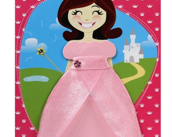 Princess handmade greeting card