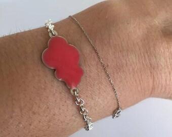 Jewelry Bracelets chain enamel cloud