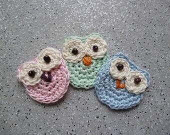 Cool 3 cotton crochet handmade