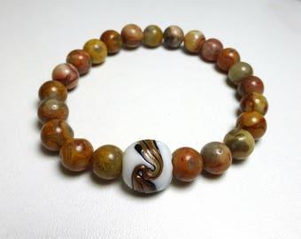 Agate - woman bracelet gemstone bracelet