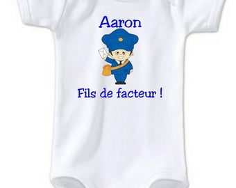 Son of factor personalized with name Bodysuit
