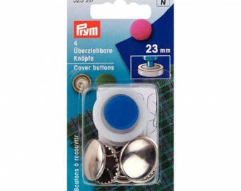 4 buttons includes 23 mm Prym