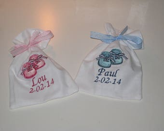 "Bags of sweets for baptism ""booties"" - custom"
