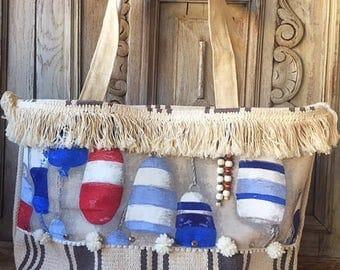Buoys beach bag