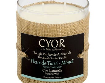 Candle SCENTED flower Tiare Monoi 240g