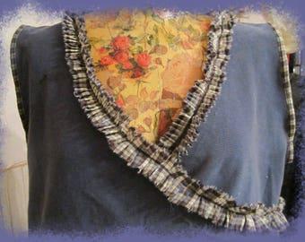 dress hides heart shape ribbed