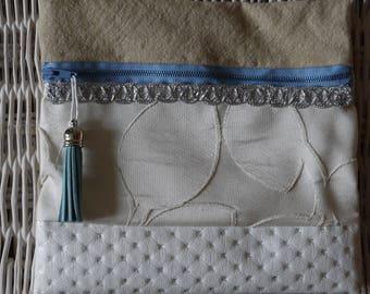 "elegant clutch tassel makeup ""Laura"" gift idea"