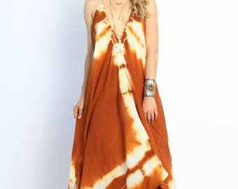Go With the Flow Dress- Sunset