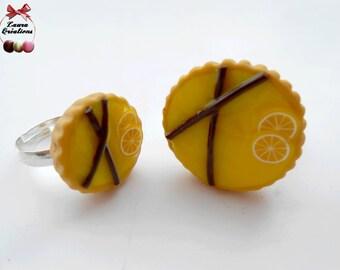 Lemon pie ring