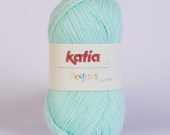 Easter from Katia 84904 green color wool