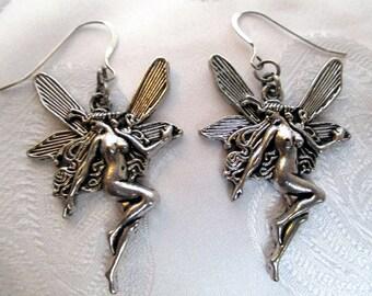 """Earrings metal """"Fairy"""""""