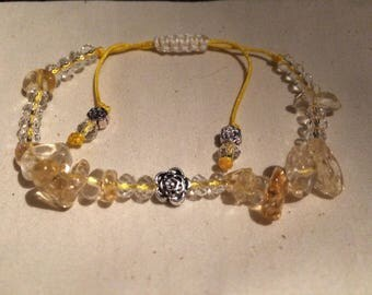 Genuine Citrine bracelet
