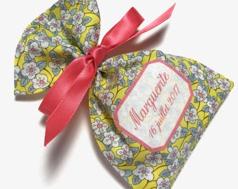10 bags of sweets customized Ffion Liberty lemon