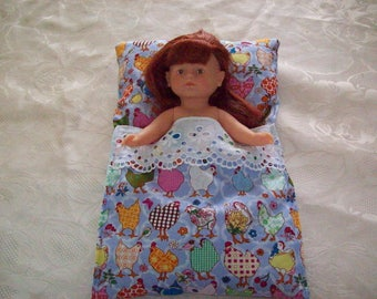 sleeping bag or sleeping bag for dolls (fits corolline kiki)