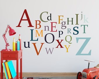 Wall letters set