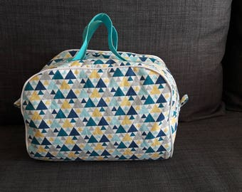Toilet bag padded