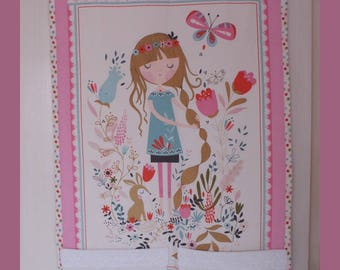 Decoration for girl's room to put the pajamas.