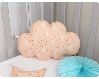 """Cushion cloud """"Milky"""" customizable"""