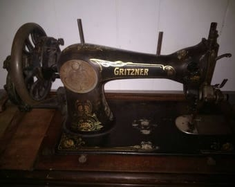 Gritzner Vintage Sewing Machine