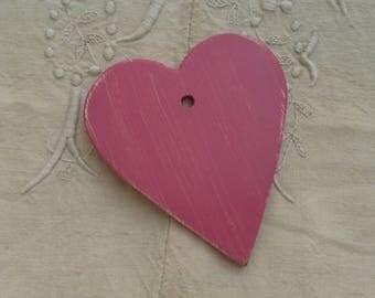 Cœur en bois à décorer et à suspendre / création de mobile pour enfant