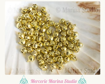 Gold metal 6mm 20 bells