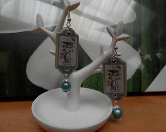 the fountain of angels (earrings)