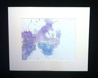 Gotham - archival art print