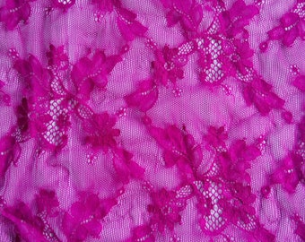 Very pretty openwork lace pink.  width 55cm creations sewing wedding ceremony