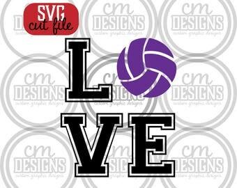 Love Volleyball, SVG