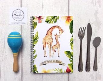 Baby Weaning Diary - Giraffe