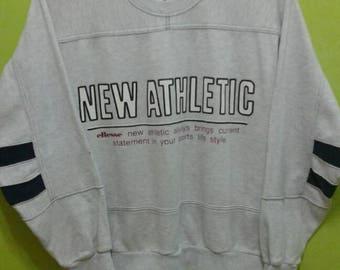 vintage ellesse new athletic