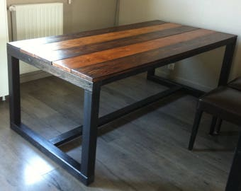 TABLE dining wood rectangular