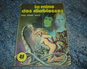 Elvifrance series blue number 32 mine of vixen comic ABE for adult