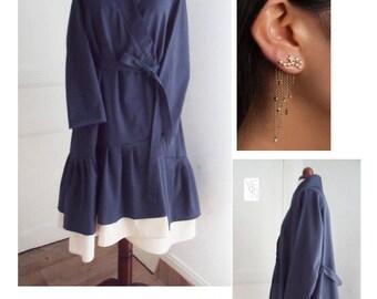 Trench coat - dress 2 in 1 wallet