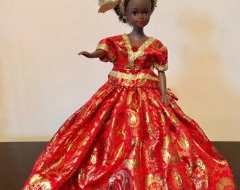 Golden Princess Doll 037