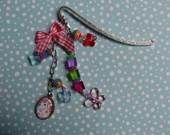 Multicolor Unicorn bookmark