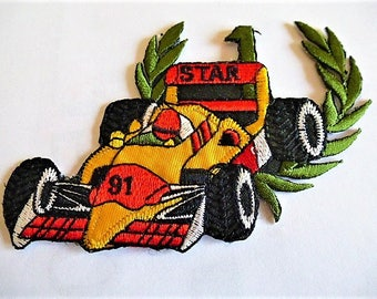 applique car racing formula 1patch badge for customisation and decoration of clothing and accessories sport