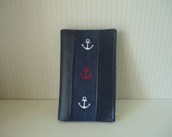 Protects Navy grey card
