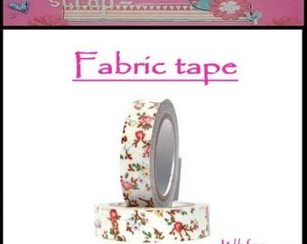 5 m fabric tape sticker embellishment scrapbooking card making 12 *.