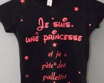 All t shirt + leggings I'm a Princess
