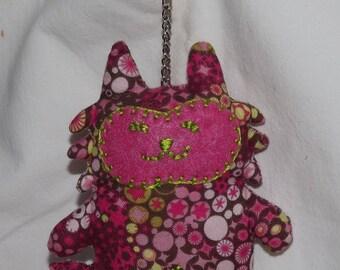 Mi-Chat Keychain pink star